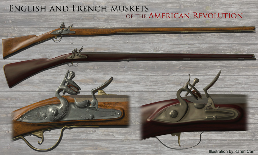 English and French muskets of the Revolutionary War era by Karen Carr